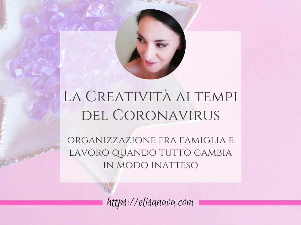 creatività e coronavirus
