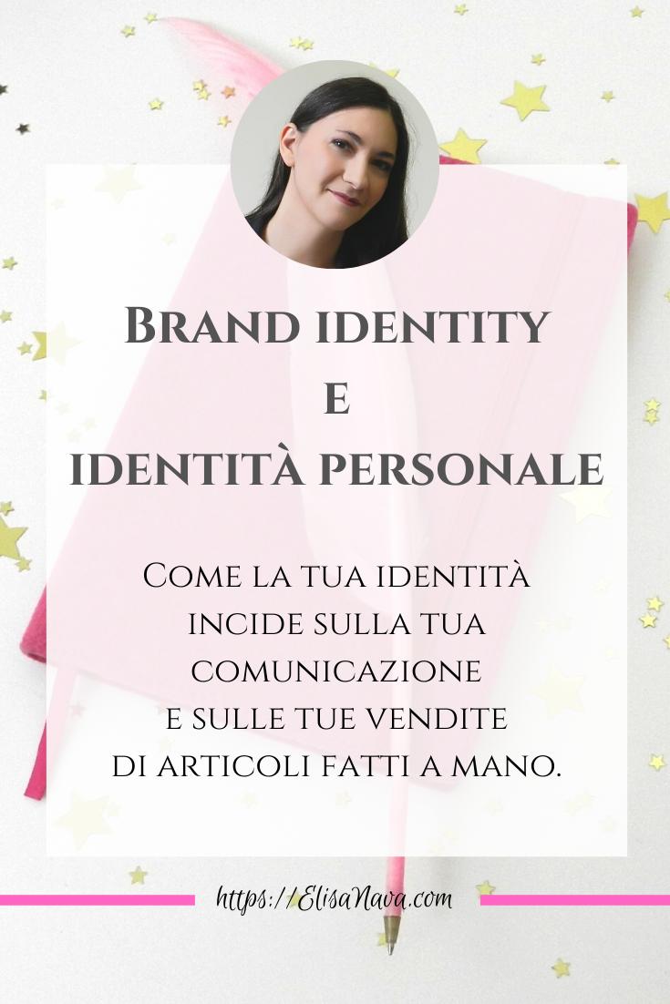 la tua identità e la brand identity