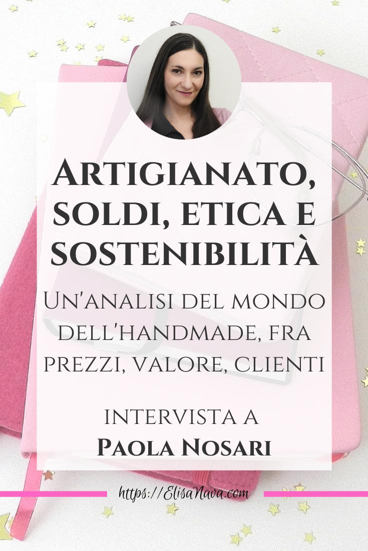 soldi etica e sostenibilità nel mondo dell'artigianato