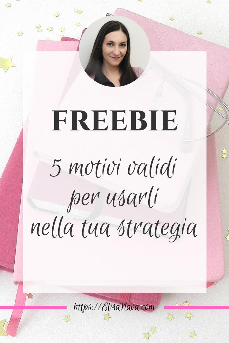 usa i freebie per promuoverti